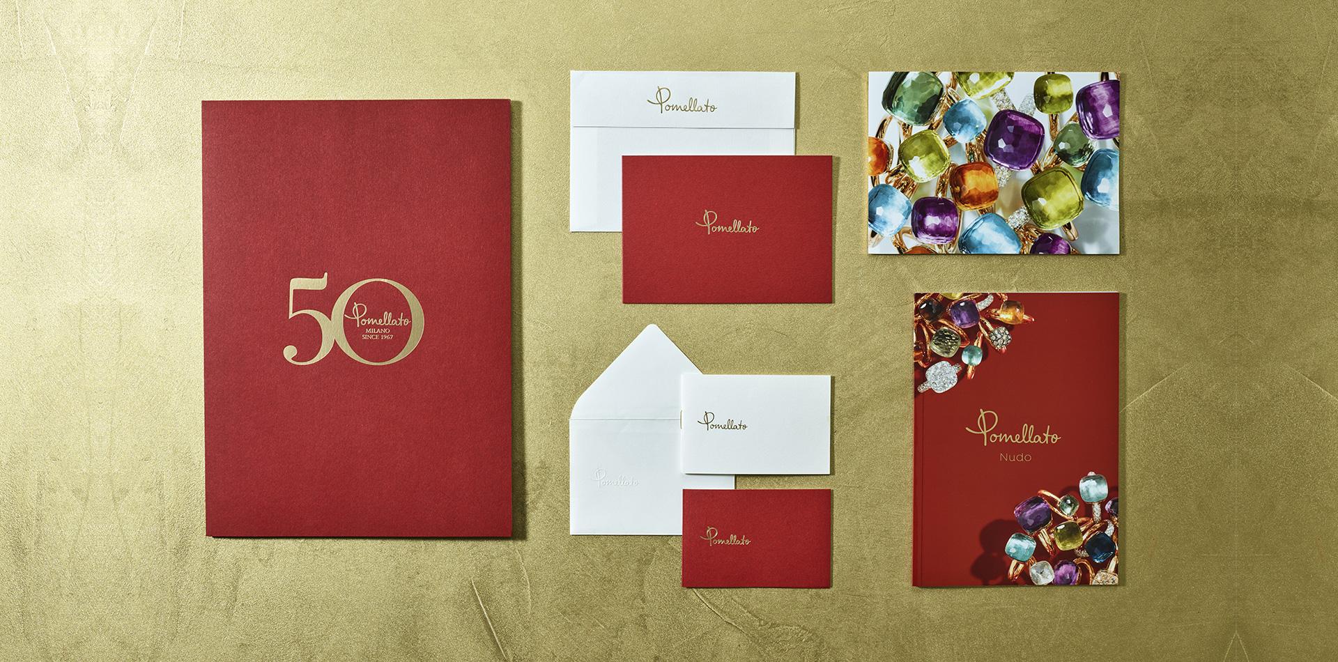 Stampa di brochure, biglietti da visita, etichette, merchandising, volantini...